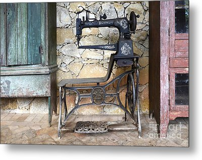 Old Times Remembered Metal Print