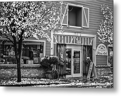 Old Town Gallery 2 Metal Print by Sherri Meyer