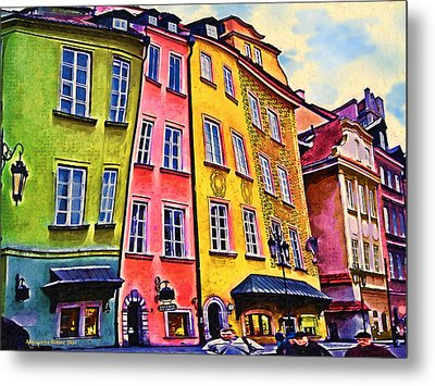 Old Town In Warsaw #4 Metal Print by Aleksander Rotner