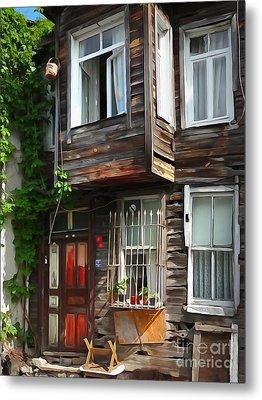 Old Town Istanbul Metal Print by Lutz Baar