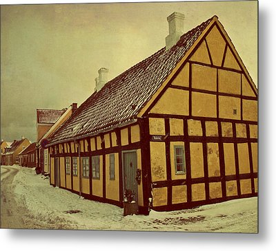 Old Town Metal Print by Odd Jeppesen