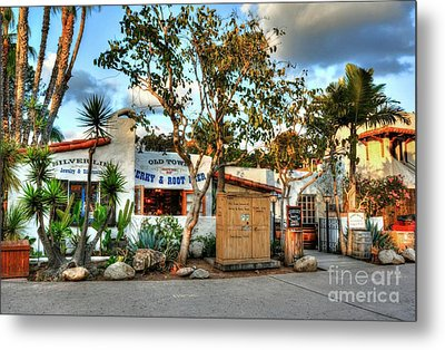 Old Town San Diego Colors Metal Print