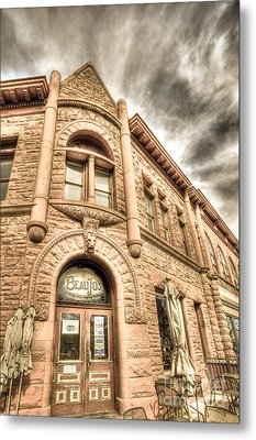 Old Town Sandstone Metal Print by JulieannaD Photography
