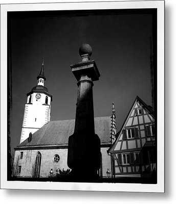 Old Town Waldenbuch In Germany Metal Print by Matthias Hauser