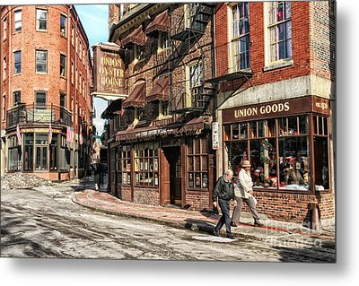 Old Towne Boston Metal Print by Mary Lou Chmura