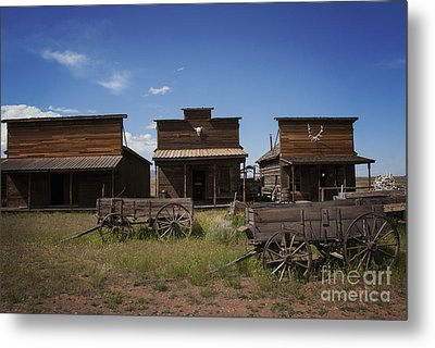 Old Trail Town Metal Print by Juli Scalzi