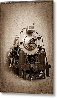 Old Trains Metal Print