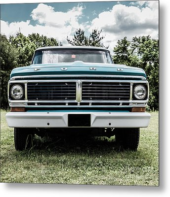 Old Ford Truck For Sale Metal Print