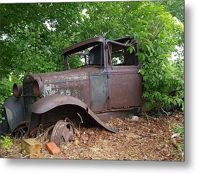 Metal Print featuring the photograph Retired In The Upper Peninsula by Jenessa Rahn