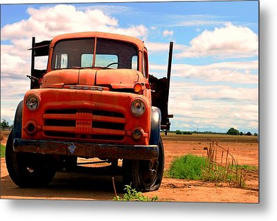Old Truck Metal Print by Matt Harang