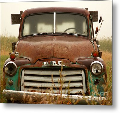 Metal Print featuring the photograph Old Truck by Steven Reed