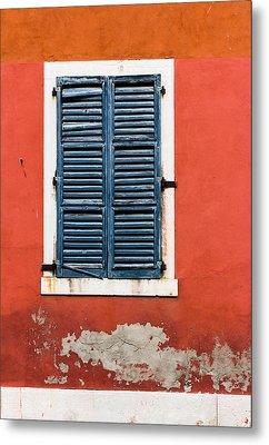 Old Venetian Window Metal Print