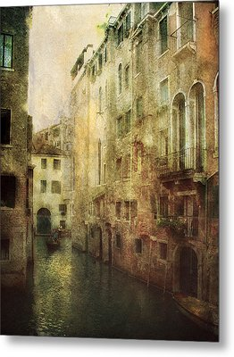 Old Venice Metal Print by Julie Palencia