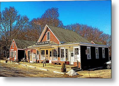 Old Village Store Metal Print by Constantine Gregory