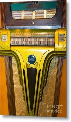 Old Vintage Mills Empress Jukebox Dsc2789 Metal Print