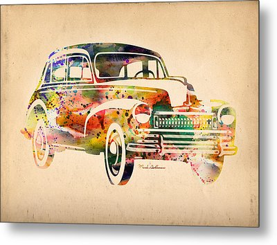 Old Volkswagen Metal Print by Mark Ashkenazi