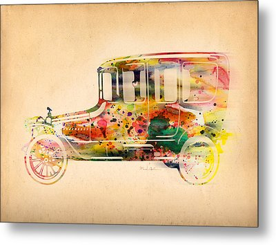 Old Volkswagen3 Metal Print by Mark Ashkenazi