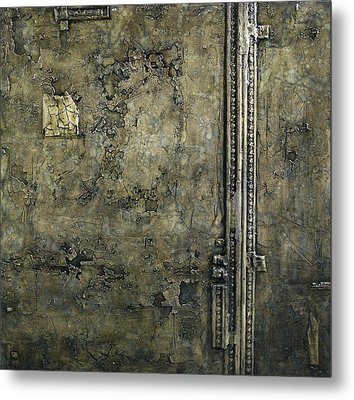 Old Wall Metal Print