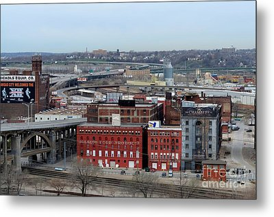 Old West Bottoms Kcmo Metal Print by Liane Wright