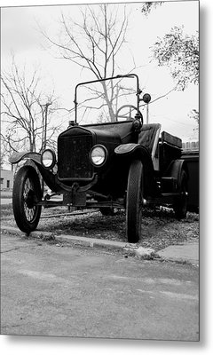 Old Wheels Metal Print by Off The Beaten Path Photography - Andrew Alexander