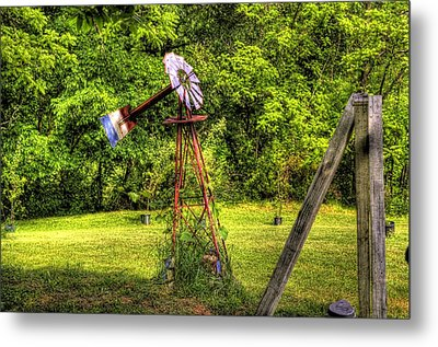 Old Windmill Metal Print by Jonny D