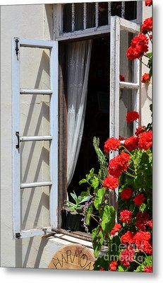 Metal Print featuring the photograph Old Window by Debby Pueschel