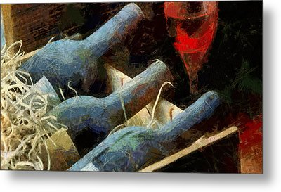 Old Wine Metal Print by Georgi Dimitrov