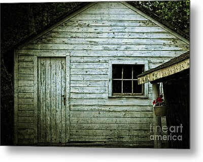 Metal Print featuring the photograph Old Wooden Building Onaping by Marjorie Imbeau