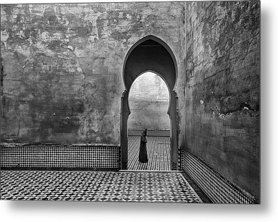 Old World Metal Print by Ali Khataw