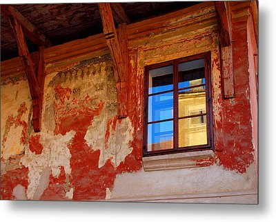 Old World Reflections Metal Print