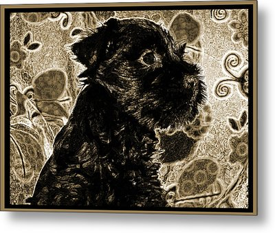 Olde World Canine Metal Print by Brian Graybill