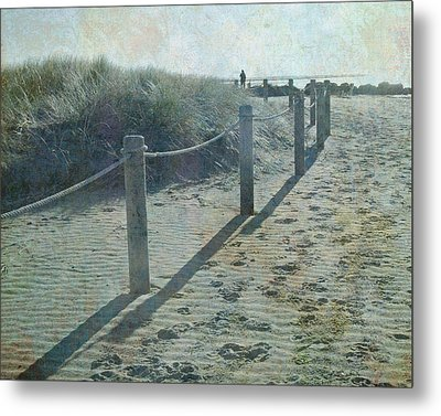 Metal Print featuring the photograph Olde Worlde Beach by Jocelyn Friis