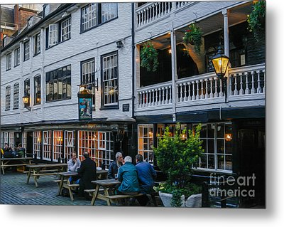 Oldest Coaching Inn In London Metal Print