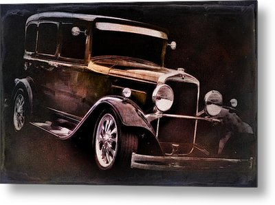 Classic Car Metal Print featuring the photograph Oldie by Aaron Berg
