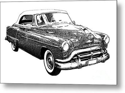 Oldsmobile 1952 Metal Print by Pablo Franchi