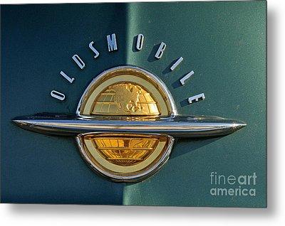 1951 Oldsmobile 98 Deluxe Holiday Sedan Metal Print