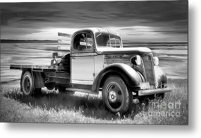 Oldsmobile Metal Print by Shannon Rogers