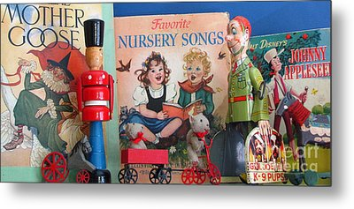 Oldtime Fun Metal Print by Marilyn Smith