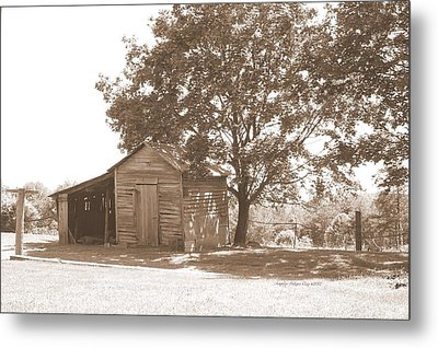 Ole Homeplace Metal Print by Angelia Hodges Clay