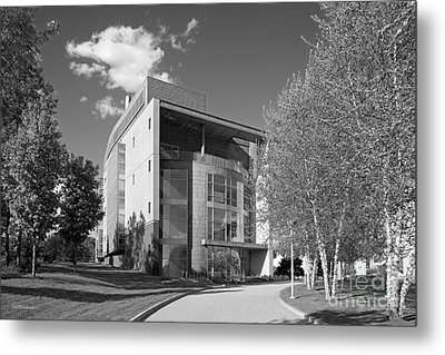 Olin College Academic Center Metal Print by University Icons