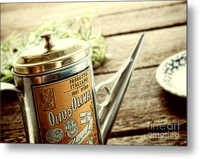 Olio D'oliva  Metal Print by Olivier Le Queinec