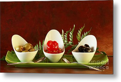 Olives Anyone Metal Print by Inspired Nature Photography Fine Art Photography