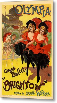 Olympia Grand Ballet Brighton Metal Print by Gianfranco Weiss