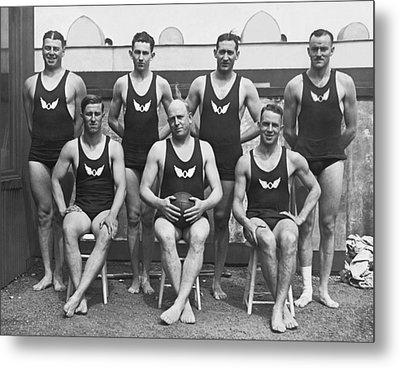 Olympic Club Water Polo Team Metal Print