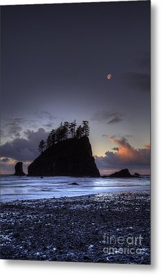 Olympic Nationals Moon Stacks Metal Print