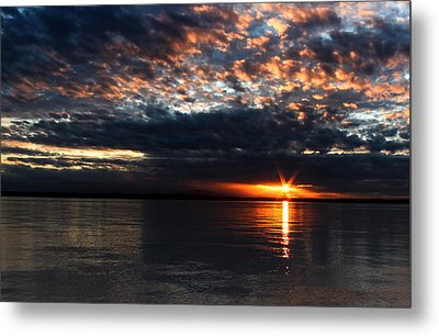 Metal Print featuring the photograph Olympic Sunstar by David Stine