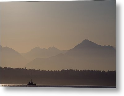Metal Print featuring the photograph Olympic Tug by Erin Kohlenberg