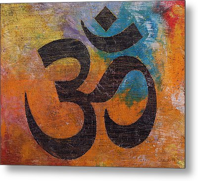 Om Metal Print by Michael Creese