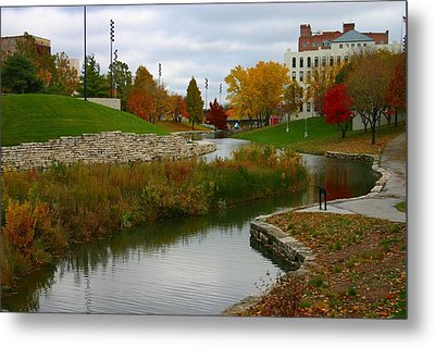 Metal Print featuring the photograph Omaha In Color by Elizabeth Winter