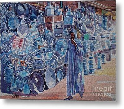 Omdurman Markit Metal Print by Mohamed Fadul